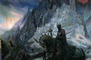 Sauron, The Lord Of The Rings, John Howe, Fantasy Art, Horse