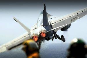 McDonnell Douglas F A 18 Hornet, FA 18 Hornet, F A 18 Hornet, Aircraft, Military Aircraft, Jet Fighter, Launching