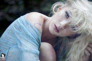 Suicide Girls, Natasha Legeyda, Tattoo, Blonde, Piercing, Women, Face
