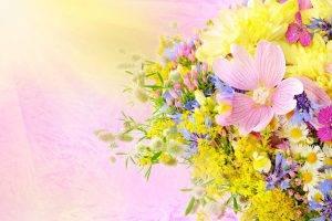 artwork, Flowers, Bouquets