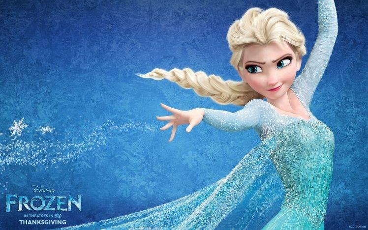 Princess Elsa, Frozen (movie), Movies HD Wallpaper Desktop Background