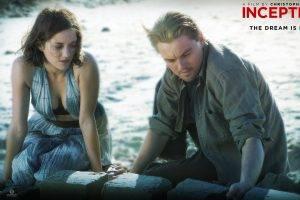 movies, Inception, Leonardo DiCaprio, Marion Cotillard