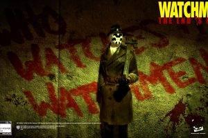 movies, Watchmen, Rorschach, Graffiti, Film Posters
