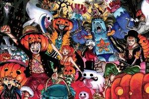 manga, Anime, One Piece, Roronoa Zoro, Nico Robin, Sanji, Franky, Usopp, Nami, Brook, Monkey D. Luffy, Tony Tony Chopper