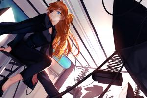 anime Girls, Anime, Neon Genesis Evangelion, Asuka Langley Soryu