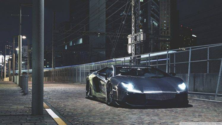 Best Wallpaper Night Lamborghini - 318558-Lamborghini-Lamborghini_Aventador-night-city-lights-gray-road-748x421  Picture-99544.jpg
