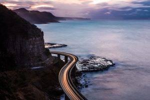 light Trails, Photography, Landscape