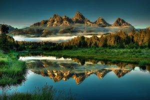 nature, Landscape, Mountains, Wyoming
