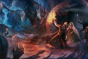 fantasy Art, Creature, Demon, Dragon, Vampires