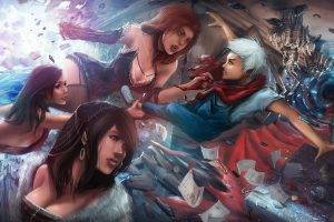 artwork, Vampires, Fantasy Art