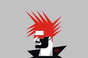 fantasy Art, Punk Rock, Punk, Red (character), Vectors, Vector Art, Minimalism, Grand Cherokee