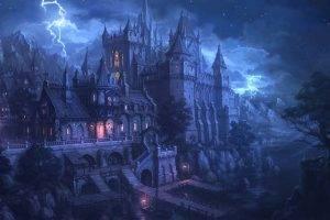 artwork, Fantasy Art, Spooky, Gothic
