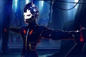 artwork, Fantasy Art, Cyborg, Cyberpunk, Futuristic