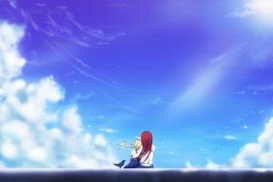 clouds, Anime