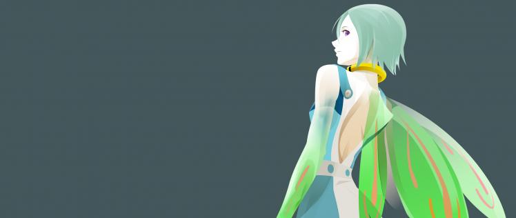 anime, Anime Girls, Anime Vectors, Eureka Seven, Eureka (character) HD Wallpaper Desktop Background