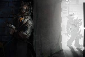 furry, Anthro, Assassin