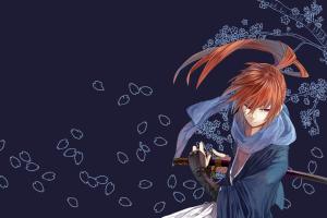 redhead, Anime, Katana, Rurouni Kenshin, Himura Kenshin