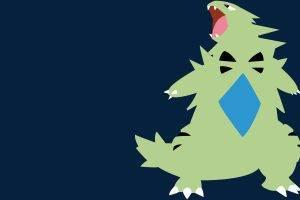 Tyranitar, Pokémon, Pokemon Second Generation, Minimalism