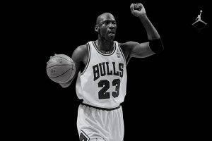 monochrome, Michael Jordan, Basketball