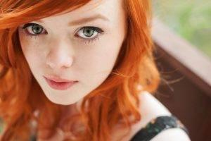 women, Redhead