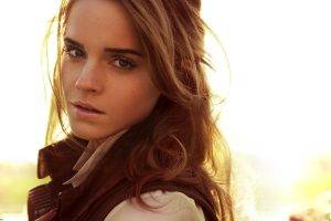 brown Eyes, Brunette, Actress, Emma Watson, Women, Celebrity, Hermione Granger, Harry Potter, Looking At Viewer