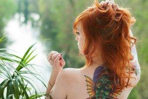 Suicide Girls, Tattoo, Redhead, Women, Julie Kennedy