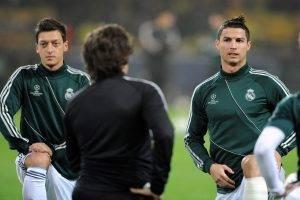 soccer, Mesut Ozil, Cristiano Ronaldo, Real Madrid