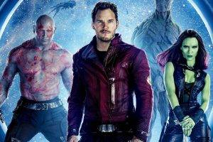Guardians Of The Galaxy, Star Lord, Gamora, Drax The Destroyer, Rocket Raccoon, Movies