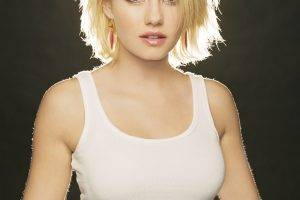 Elisha Cuthbert, Women, Actress, Blonde, Tank Top