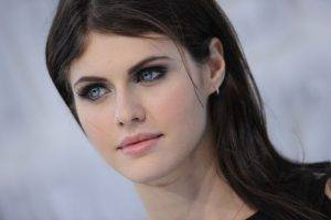 Alexandra Daddario, Blue Eyes, Brunette, Women