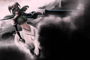 Bleach, Nelliel Tu Odelschwanck, Anime, Anime Girls, Espada, Dust