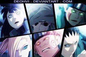 Naruto Shippuuden, Hyuuga Hinata, Yamanaka Ino, Nara Shikamaru, Akimichi Chôji, Inuzuka Kiba, Aburame Shino, Anime