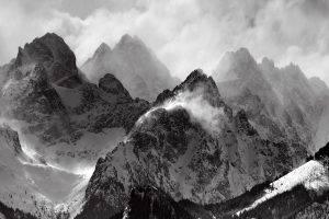 Mount Everest, Ice, Mist, Nature, Landscape, Photography