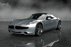 Gran Turismo 6, Video Games, Car, Vehicle, Mist, Reflection, Fisker Karma