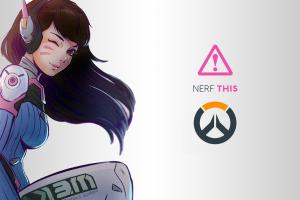 DXHHH101 (Author), Hana Song, Blizzard Entertainment, Overwatch, Video Games, Logo, D.Va (Overwatch)