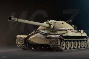 tank, Digital Art, IS 7, World Of Tanks