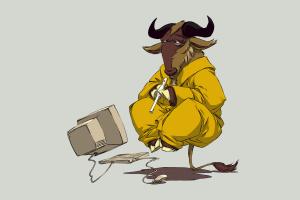 GNU, Linux, Animals