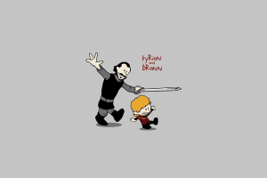 crossover, Calvin And Hobbes, Game Of Thrones