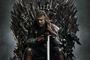 Game Of Thrones, Ned Stark, Iron Throne, Sean Bean