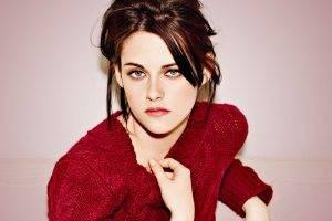 Kristen Stewart, Green Eyes, Brunette, Women