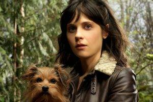Zooey Deschanel, Tin Man, Brunette, Dog, Actress