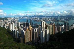 Hong Kong, City, China, Landscape