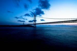 bridge, Blue