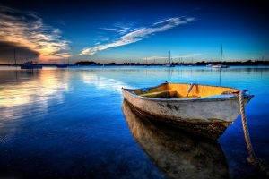 boat, Harbor, Water