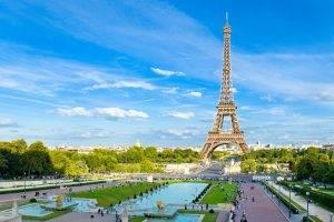 architecture, Paris, Eiffel Tower, France