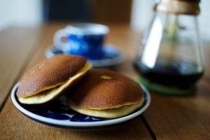 pancakes, Coffee, Table, Breakfast