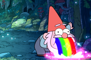 Gravity Falls, Rainbows, Gnomes