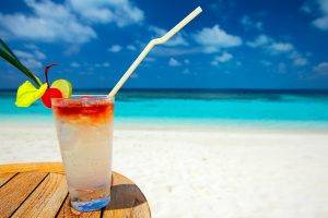 summer, Sea, Beach, Drink