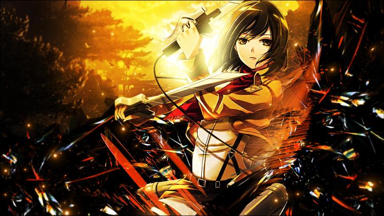 21 Wallpaper Anime Hd Mikasa
