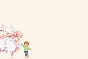 Mahou Shoujo Madoka Magica, Kaname Madoka, Angel, Anime